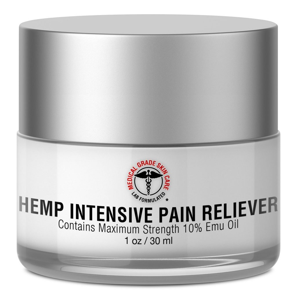 Medical Grade Skin Care Hemp Intensive Pain Reliever