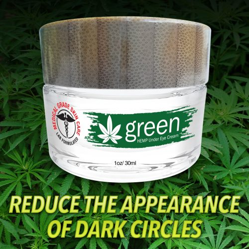 dark circle eye cream with hemp
